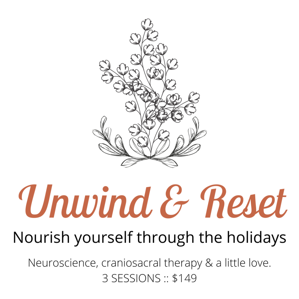 Neuroscience craniosacral therapy a little love